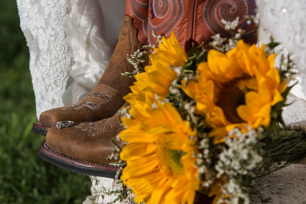 Wedding Boots Photo
